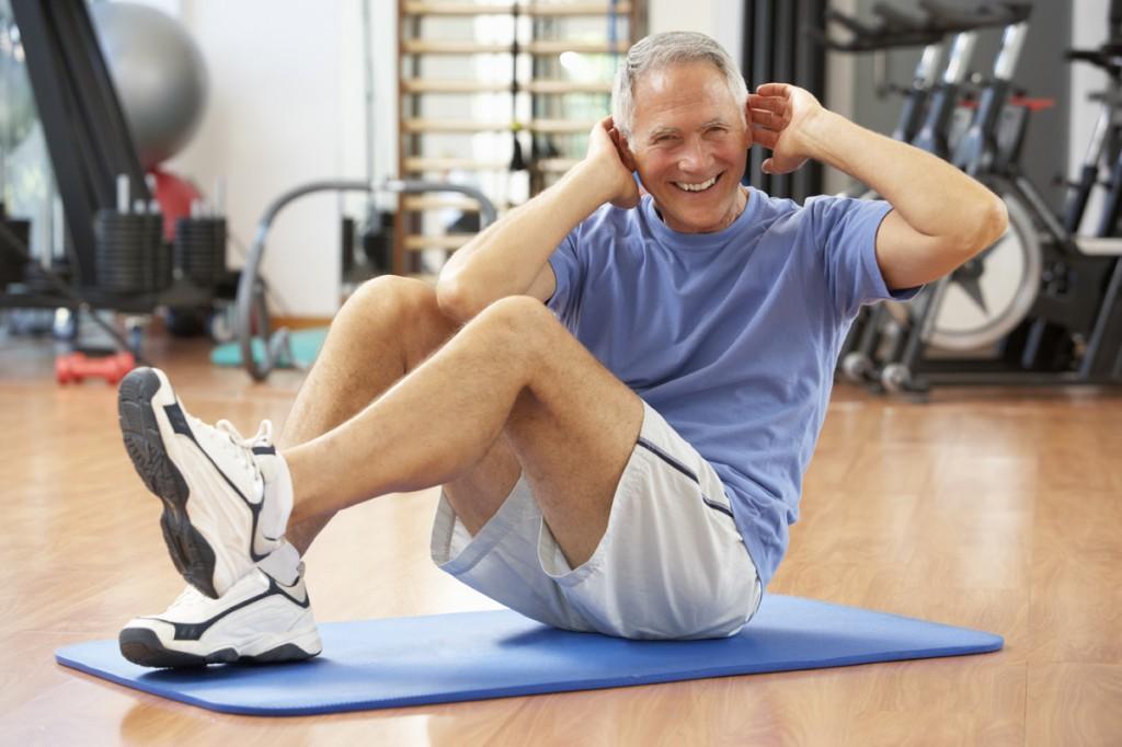 Seniorensport - fit bleiben im Alter 50+, 60+ - Sie können es auch