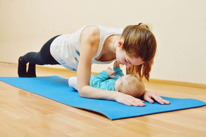 schwangerschaft - personal training