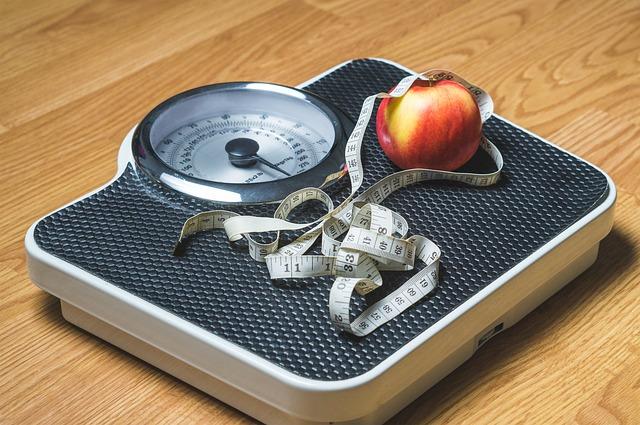 Das Abnehmen und die Waage