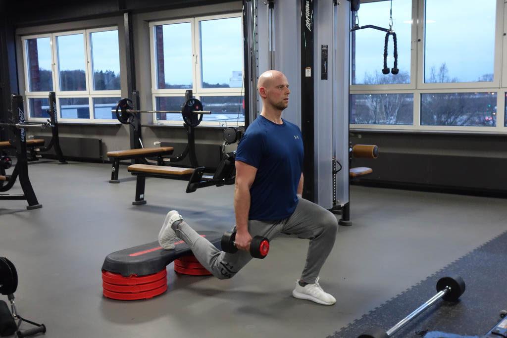 Einbeinige Kniebeuge – Training Beinmuskulatur